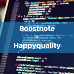 Boostnote + Happyquality